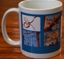 Photo Mug, Blue, Side 1